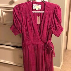 Pink Anthropologie Dress